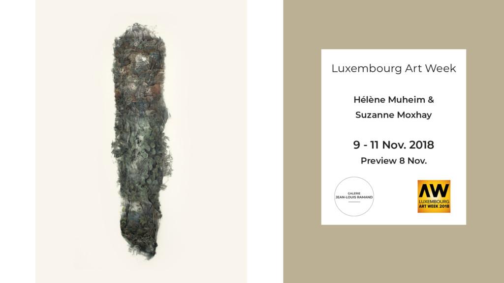 Art Fair | Luxembourg Art Week 2018