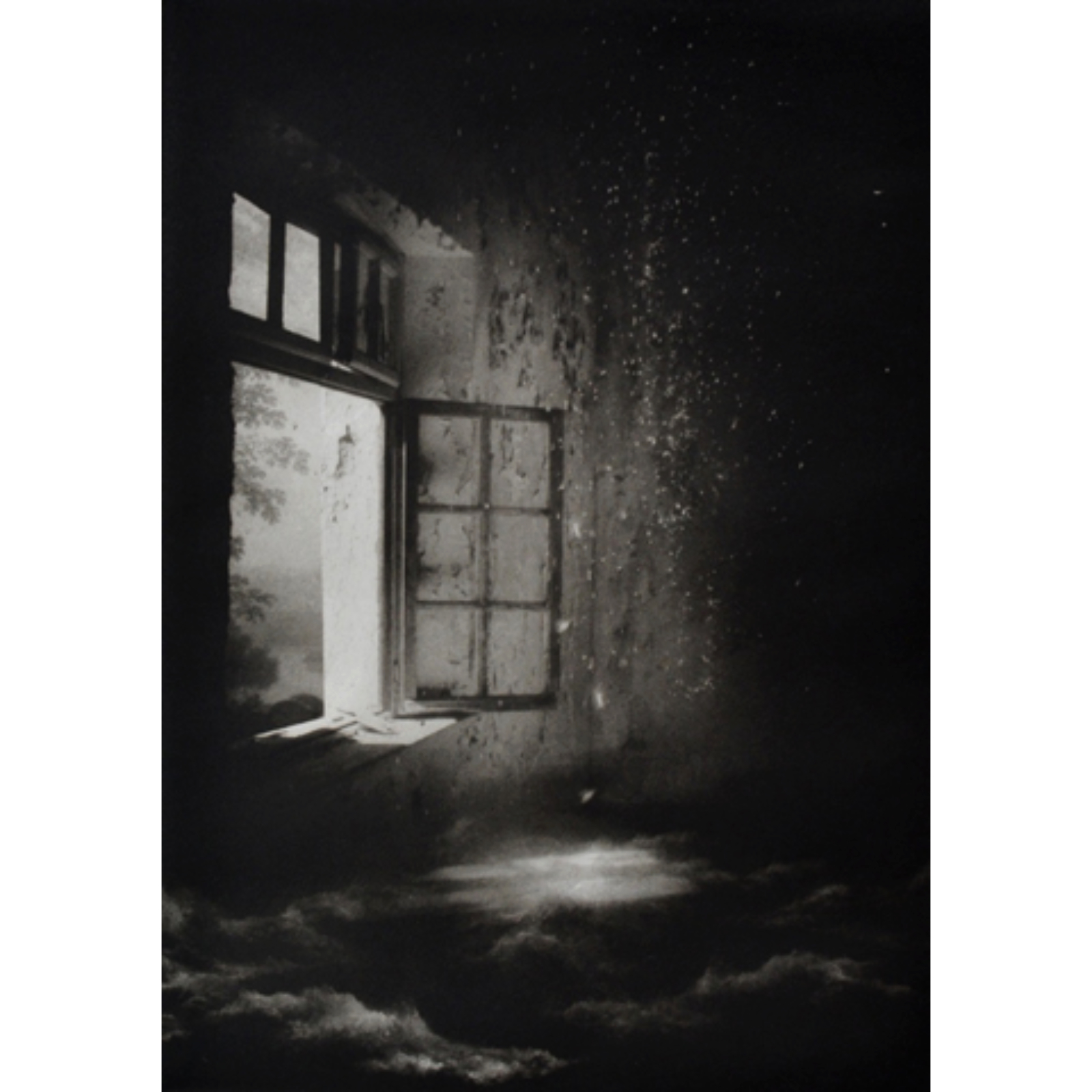 Suzanne Moxhay Open Window and Rain