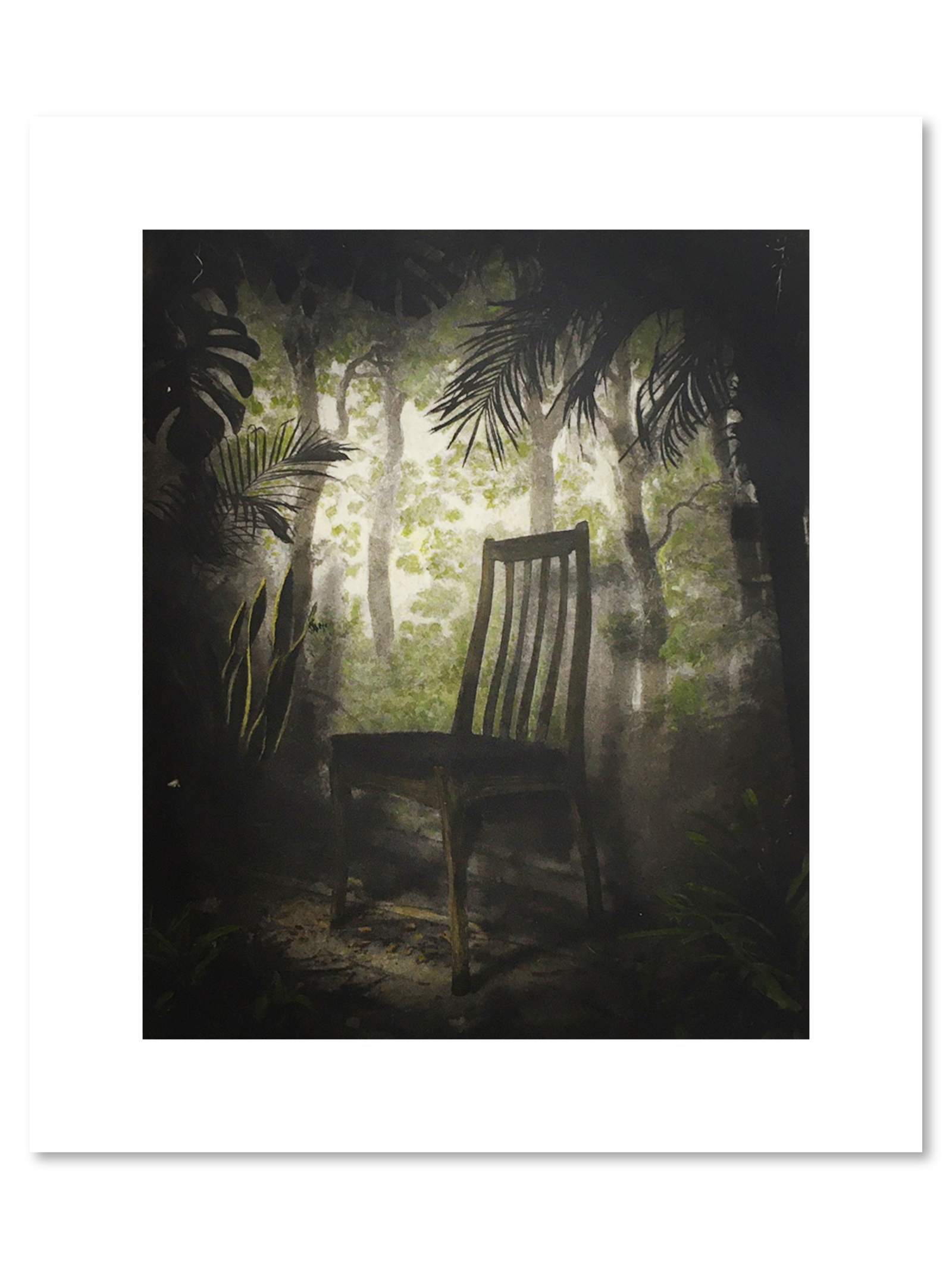 Suzanne Moxhay Overgrown Room With Chair 2020